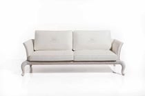 Traditional sofa / garden / rattan / 2-seater