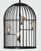 Pendant lamp / traditional / metal / outdoor