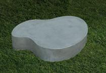 Original design coffee table / cement / garden / for public spaces