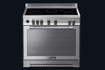 Electric range cooker / vitroceramic