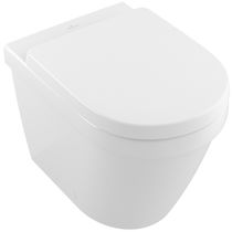 Free-standing WC / ceramic / rimless