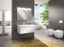 Contemporary bathroom / ceramic
