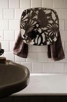 Electric towel radiator / storage / steel / brass