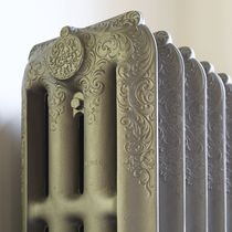 Hot water radiator / cast iron / traditional / free-standing