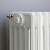 Hot water radiator / cast iron / contemporary / horizontal