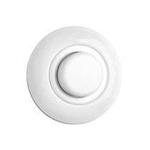 Light dimmer switch / plastic / porcelain / contemporary