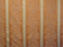 Curtain fabric / patterned / viscose