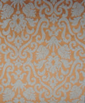 Curtain fabric / patterned / cotton