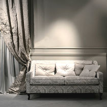 Upholstery fabric / for curtains / patterned / velvet