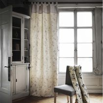 Curtain fabric / upholstery / plain / cotton