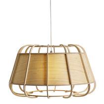 Pendant lamp / traditional / bamboo / LED