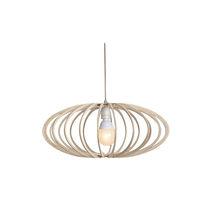 Pendant lamp / contemporary / birch / wooden