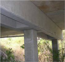 Reinforced concrete beam / prestressed concrete / rectangular