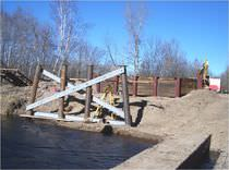 Driven pile / steel / foundation