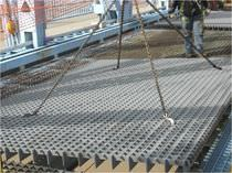 Steel bridge decking