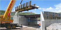 Steel bridge / precast