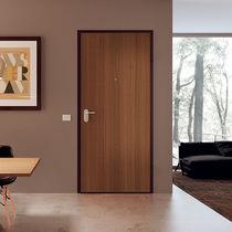 Entry door / swing / wooden / melamine