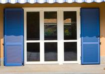 Swing shutters / steel / window / acoustic
