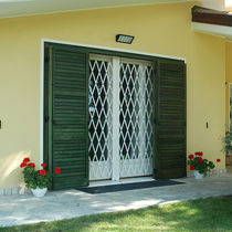 Removable security grille