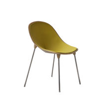 Contemporary chair / felt / upholstered