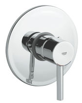 Shower mixer tap / wall-mounted / chrome / for bathrooms