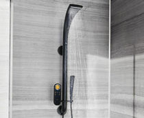 Wall-mounted shower set / contemporary / wireless