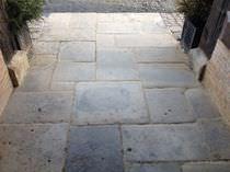 Limestone paver / drive-over