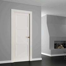 Indoor door / swing / wooden / lacquered