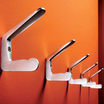 Contemporary coat hook / aluminum / multiple / commercial