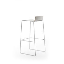 Contemporary bar stool / steel / commercial / stackable