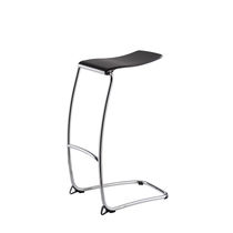 Contemporary stool / steel / extruded aluminum / commercial