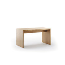 Contemporary table / beech / wood veneer / HPL