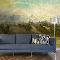 Contemporary wallpaper / vinyl / nature pattern / 3D effect