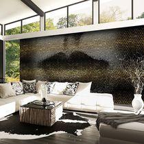 Original design wallpaper / vinyl / geometric pattern / urban motif