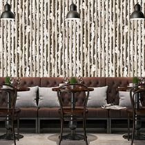 Contemporary wallpaper / vinyl / patterned / 3D effect