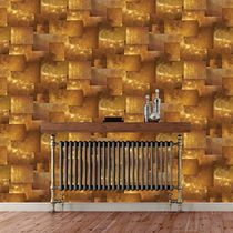 Contemporary wallpaper / vinyl / geometric pattern / urban motif