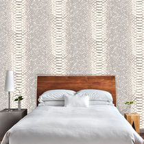 Contemporary wallpaper / vinyl / animal motif / animal skin