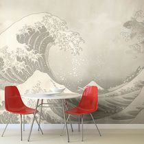 Contemporary wallpaper / vinyl / nature pattern / panoramic
