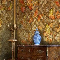 Classic wallpaper / vinyl / patterned / non-woven