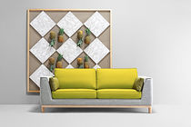 Compact sofa / contemporary / fabric / 2-seater