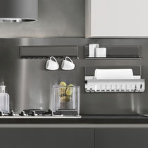 Wall-mounted shelf / contemporary / aluminum / stainless steel