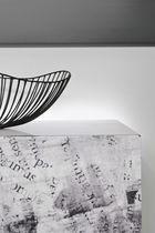 Wall-mounted sideboard / contemporary / metal / NewspaperWood