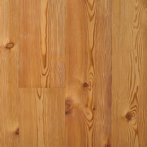 Engineered wood flooring / glued / larch / natural oil