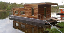 Prefab house / modular / floating / contemporary