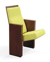 Auditorium armchair / contemporary / fabric / commercial