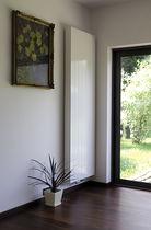 Hot water radiator / metal / contemporary / radiant panel