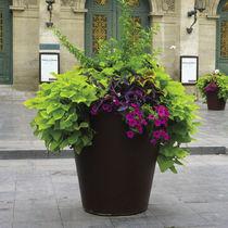 Steel garden pot / conical