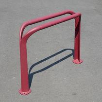 Cast aluminum bike rack