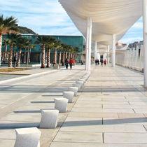 Security bollard / high-performance concrete