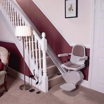 Indoor chair stair lift / outdoor / power-operated